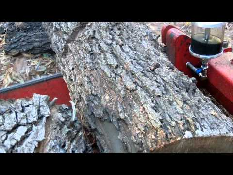 Gravely Chainsaw on 4-Wheel Tractor