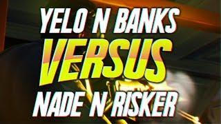 22 Kill Tournament Match ft FaZe Banks / Nadeshot / Risker - Fortnite Battle Royale