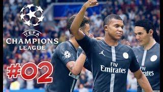 PSG vs Manchester United 1/8 Finale Ligue des Champions 2018/2019 | FIFA 19 #02