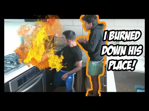Download Youtube: ALMOST BURNED DOWN RUDY MANCUSO'S APT