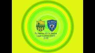 Video Gol Pertandingan FC Nantes vs SC Bastia