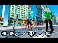 Bike Racing Games - BMX Bicycle Taxi Driving Sim 2018 - Gameplay Android free games