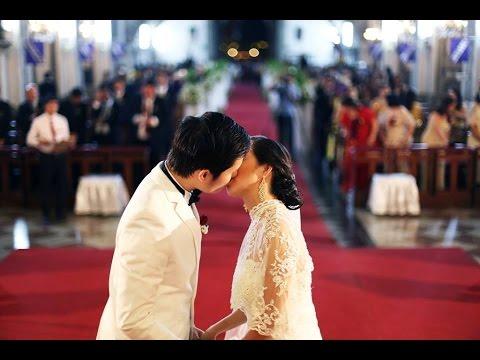 Ross & Kelly Wedding Ceremony | San Agustin Church