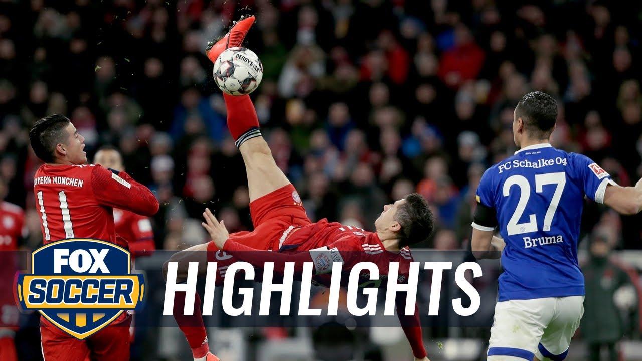 Bayern Munich Vs Fc Schalke 04 2019 Bundesliga