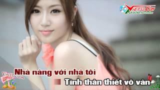 Hoa Sứ Nhà Nàng KaraOke Nhạc Sống Clip Girl Xinh