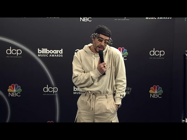 Bad Bunny Interview 2020 Billboard Music Awards Spanish Youtube