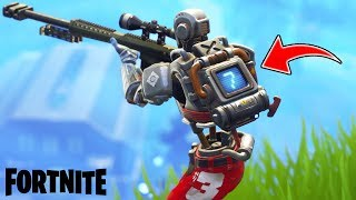 NEW SKIN AND REACTIVE MOCHILA!! Fortnite: battle royale (Hunting match)