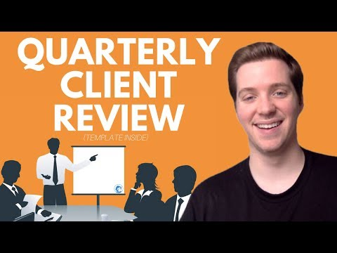 How to Structure a Quarterly Client Review Presentation? 👔 [Presentation Template Included]