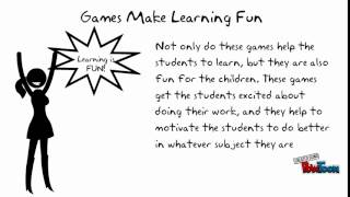 The Benefits Of Educational Games In Teaching