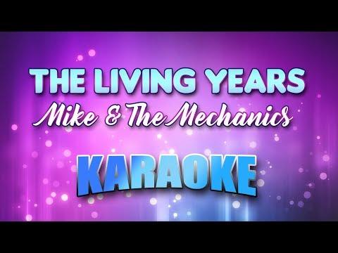Mike & The Mechanics - Living Years, The (Karaoke version with Lyrics)
