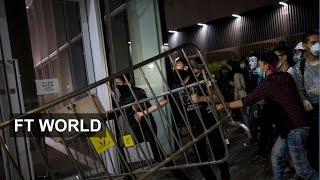 Protesters storm Hong Kong legislature
