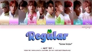 Nct 127 (엔씨티127) – regular *korean version* (color coded lyrics ...