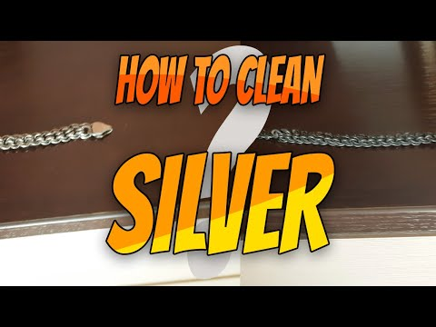How to Quick Clean Silver Jewellery items at home. Easy and effective way method to clean Silver
