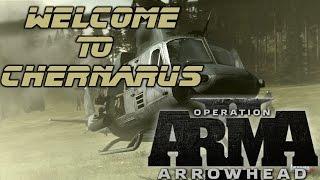 Welcome To Chernarus - Arma 2 Operation Arrowhead Gameplay