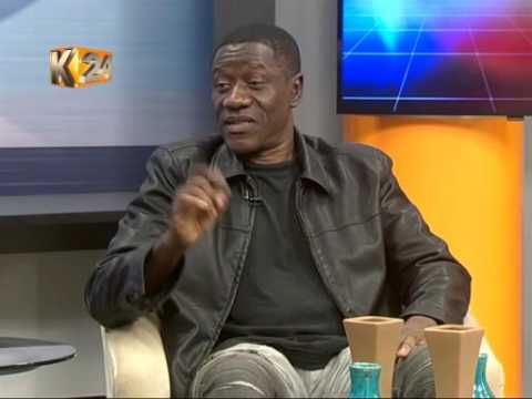 Hollywood sensational actor Benjamin Onyango graces #K24Alfajiri