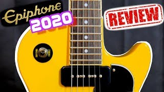 These are Priced TOO LOW! | 2020 Epiphone Inspired by Gibson Les Paul Special TV Yellow Review Demo