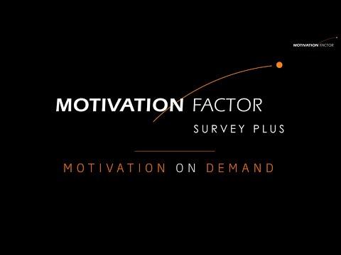 Motivation Factor Survey Plus | Short version
