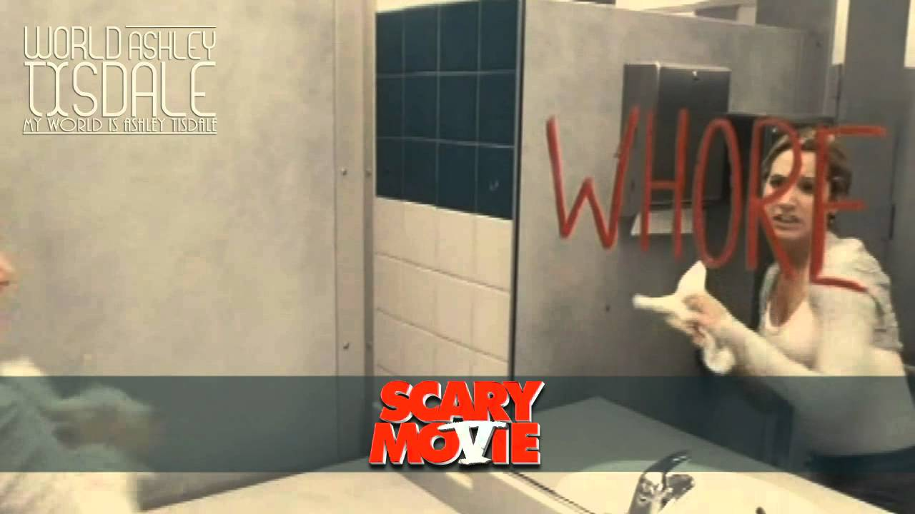 Scary Movie 5 Movie Scene Jody Lunch World Ashley Tisdale Youtube
