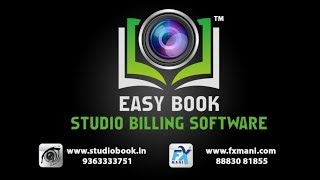 Easy Book Studio Billing Software
