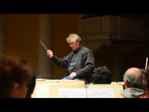 Репетиция академического симфонического оркестра Запорожской областной филармонии