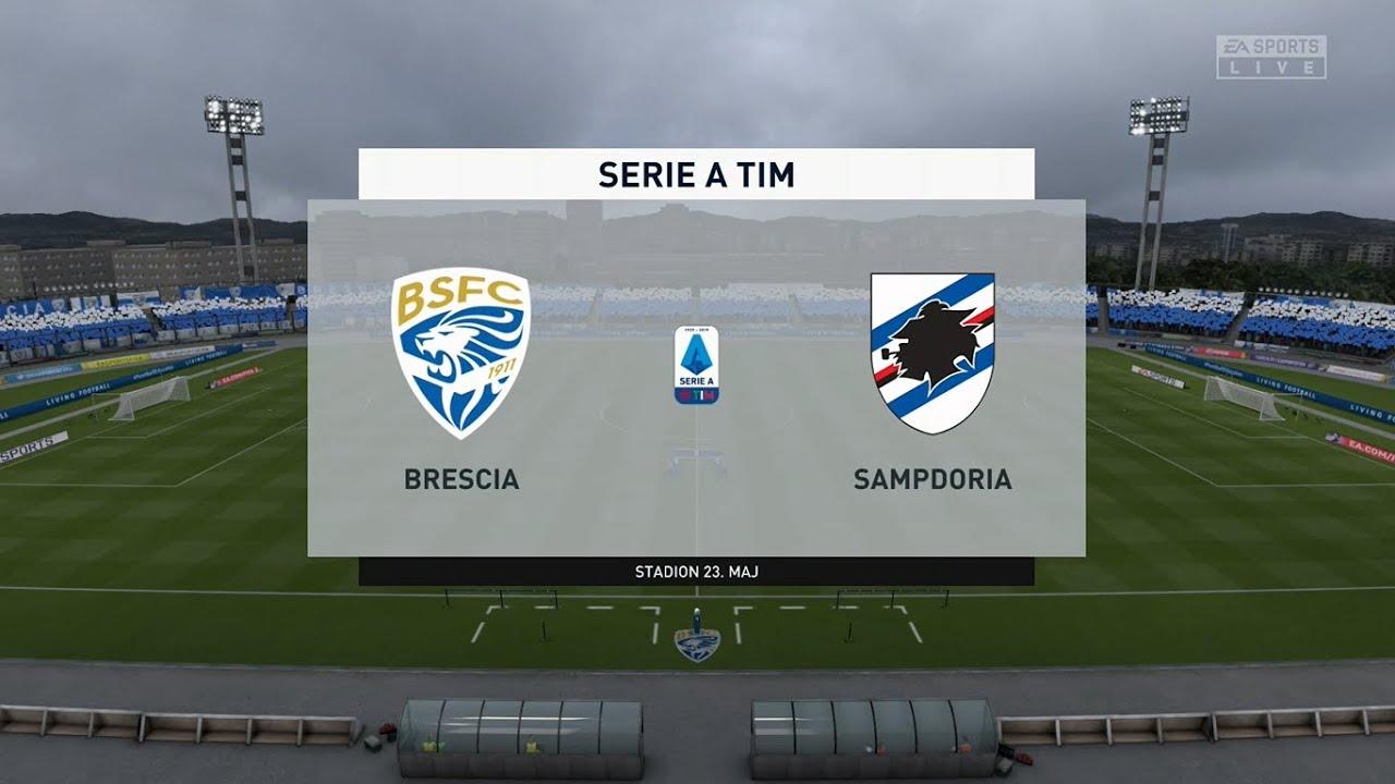 【足球直播】意甲第38輪:2020.08.02 00:00-布雷西亞 VS 森多利亞(Brescia VS U.C. Sampdoria)