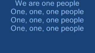 One Tribe - The Black Eyed Peas with lyrics