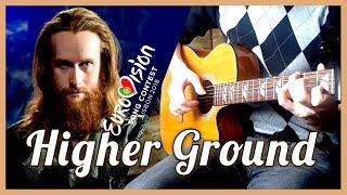 Rasmussen - Higher Ground (Denmark - Eurovision 2018) [Fingerstyle Guitar Cover]