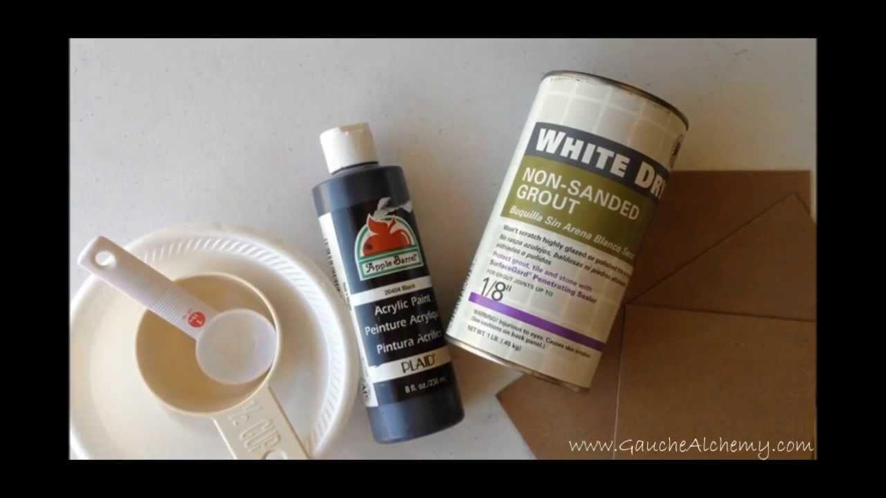 Diy Chalkboard Paint Part - 41: DIY: Make Your Own Chalkboard Paint - YouTube