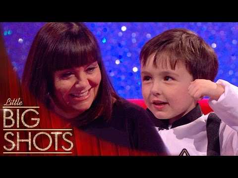 Bubbly Spaceman Embarrasses Dad on Live TV | Little Big Shots