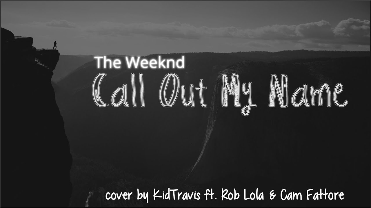 image The weeknd call out my name