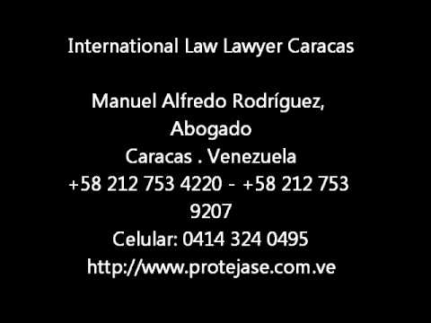 International Law Lawyer Caracas
