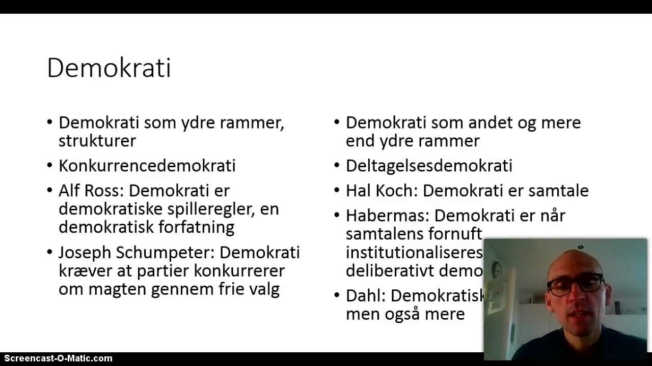 Robert Dahl og demokrati