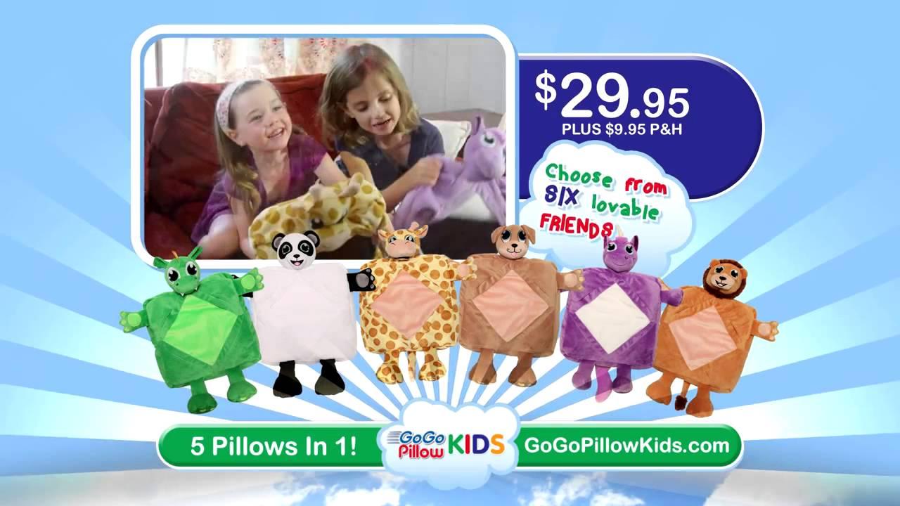 GoGo Pillow Kids || - YouTube