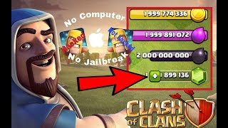 CLASH OF CLANS HACK!!! UNLIMITED EVERYTHING [On iOS No Jailbreak or Computer!!]