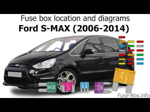 fuse box location and diagrams ford smax / galaxy 20062014