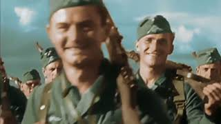 Смотреть сериал Документальный сериал Вторая мировая война в цвете 2 13  Молниеносная война онлайн