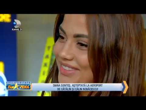 FanArena (11.10.2018) - Diana Sentes a ajuns in Romania! Care au fost primele declaratii? Partea 3