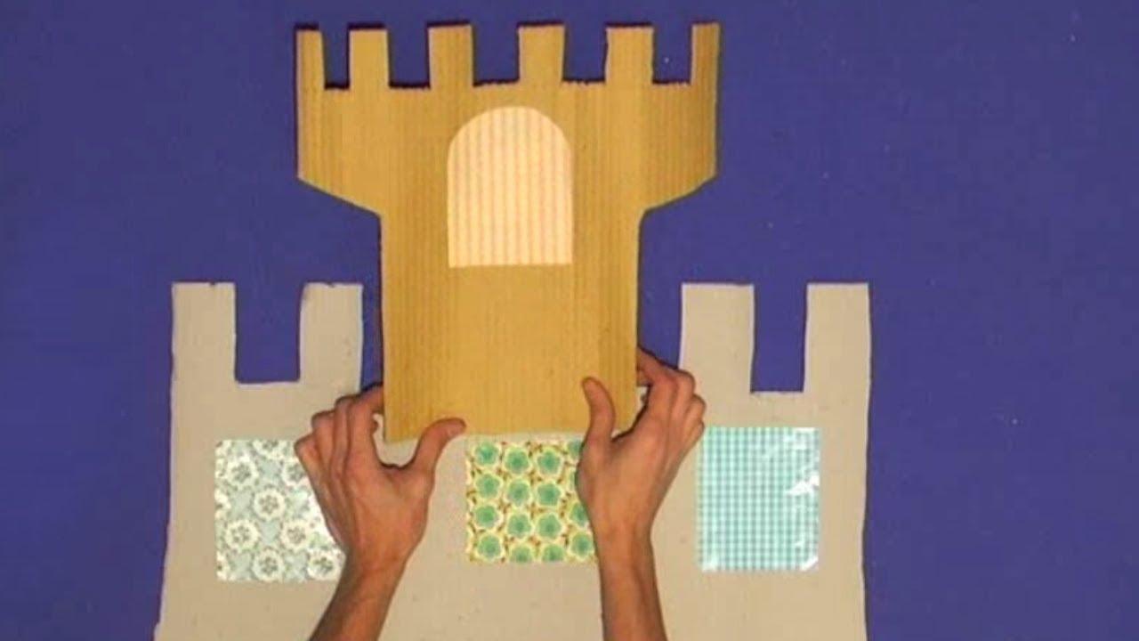 Castello Di Cartone Art Attack : Costruiamo insieme il trono per re e regine youtube