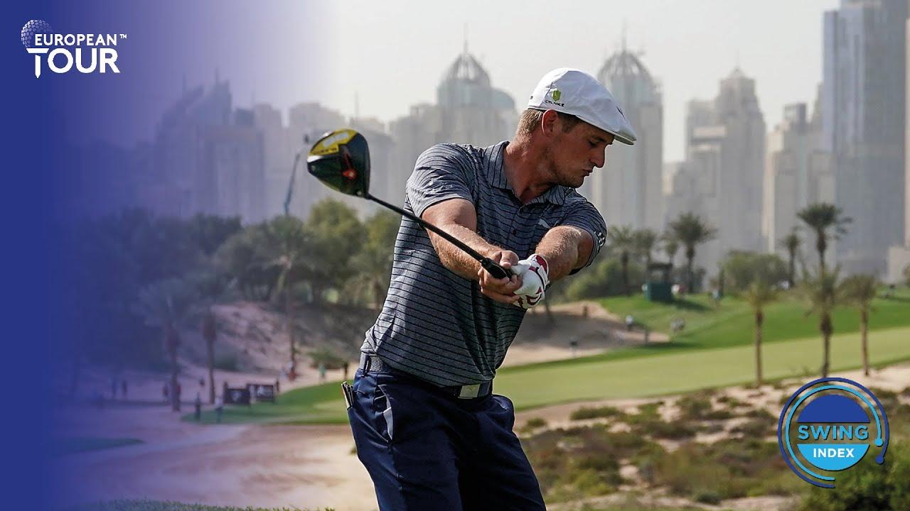 Bryson DeChambeau's driver golf swing in Slow Motion