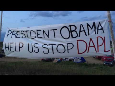 Message to President Obama from Standing Rock Camp North Dakota