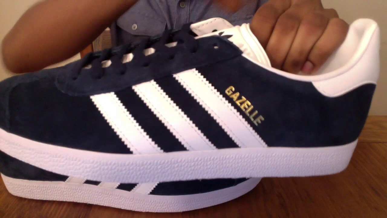 Blue Adidas Gazelle Unboxing | Adidas Gazelle On Feet