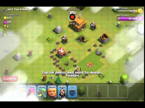 Clash Of Clans XMOD Sandbox Attack