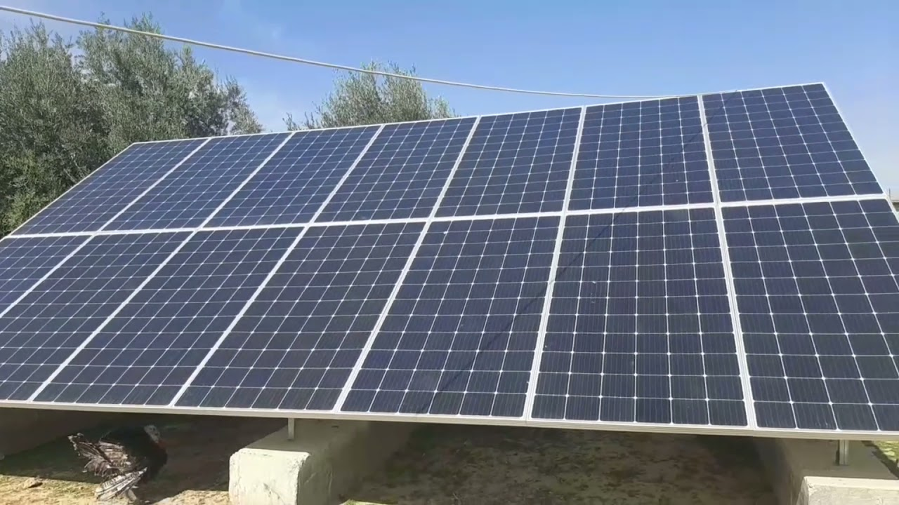 203 - Solar energy for 100 homes and 30 farms - Phase 1