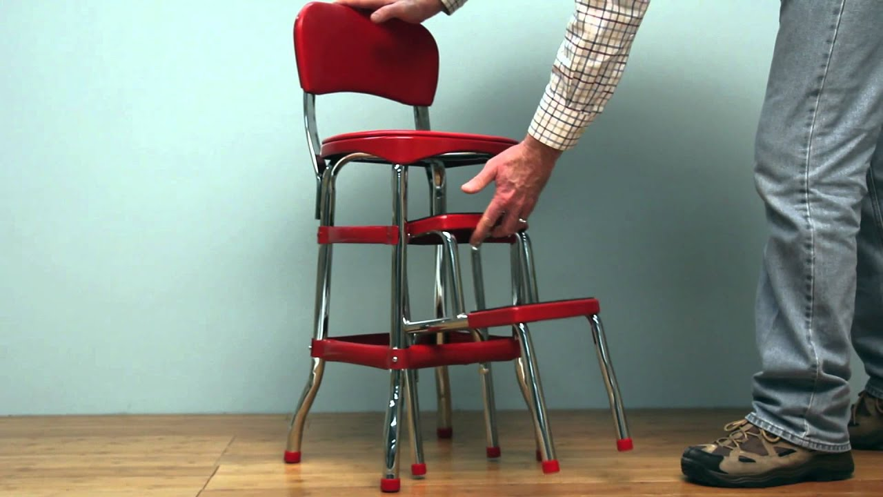 Ordinaire Retro Stepstool