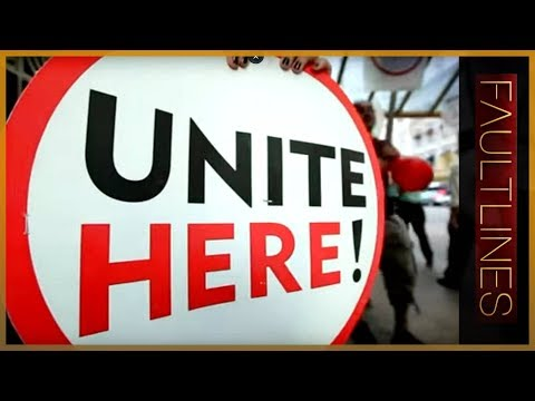 Fault Lines - The decline of labour unions in the US