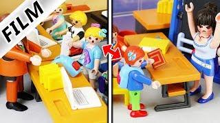 Playmobil Film deutsch | HAUSAUFGABEN VERTAUSCHT Alles nur faule Ausrede? Kinderserie Familie Vogel