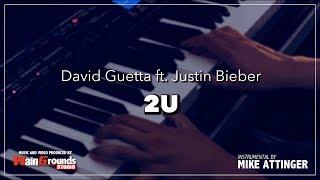 Video David Guetta - 2U ft. Justin Bieber - Karaoke / Lyrics / Instrumental with piano download MP3, 3GP, MP4, WEBM, AVI, FLV Februari 2018