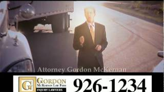 Baton Rouge Personal Injury Attorney 18 wheeler wreck - Gordon McKernan - Get It Done!