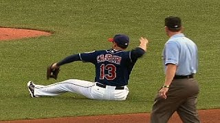 Cabrera makes a dazzling play in the fourth