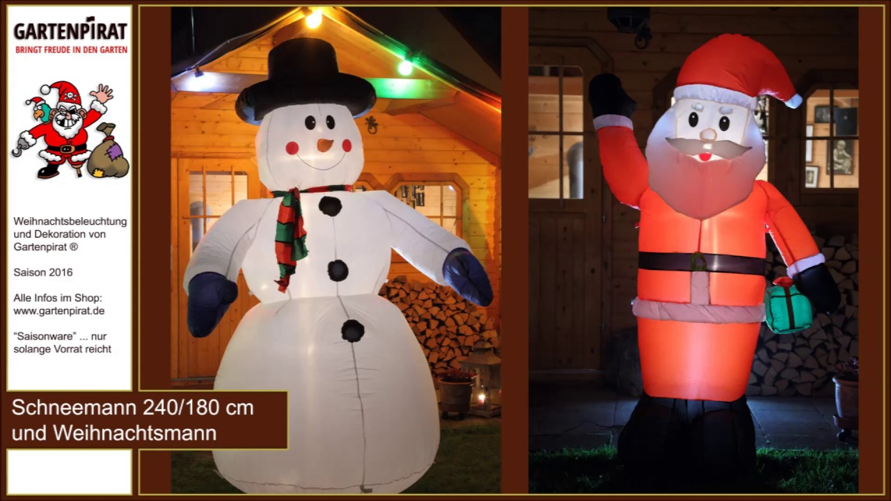 Weihnachtsbeleuchtung Schneemann Außen.Deko Weihnachtsbeleuchtung